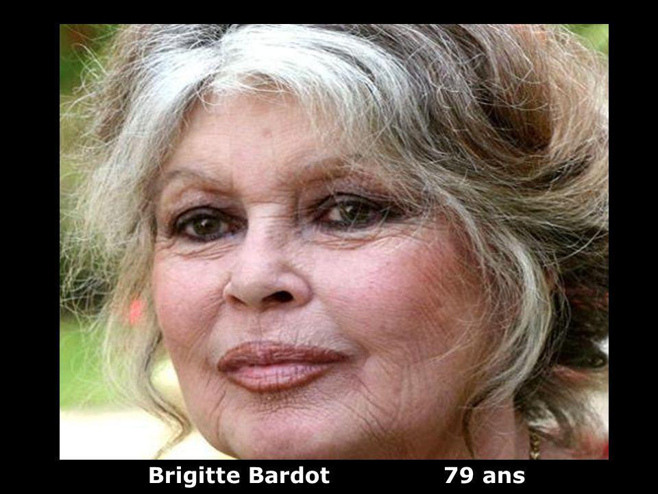 Brigitte Bardot 79 ans