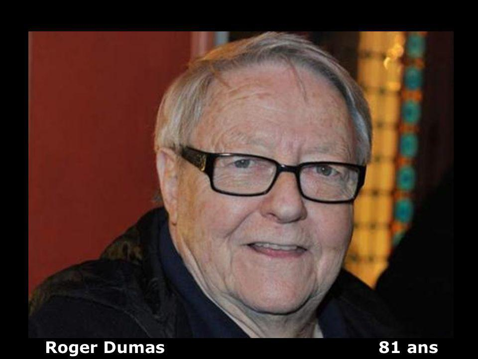 Roger Dumas 81 ans