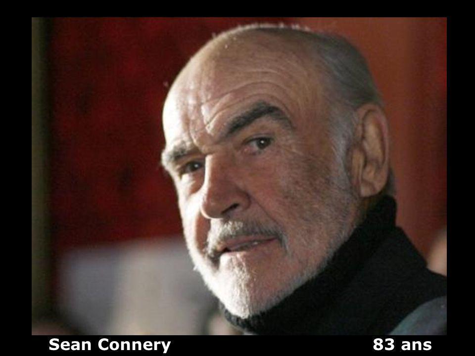 Sean Connery 83 ans