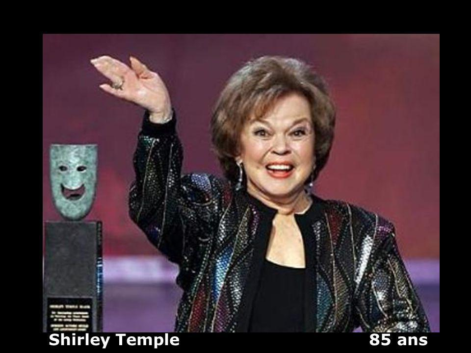 Shirley Temple 85 ans