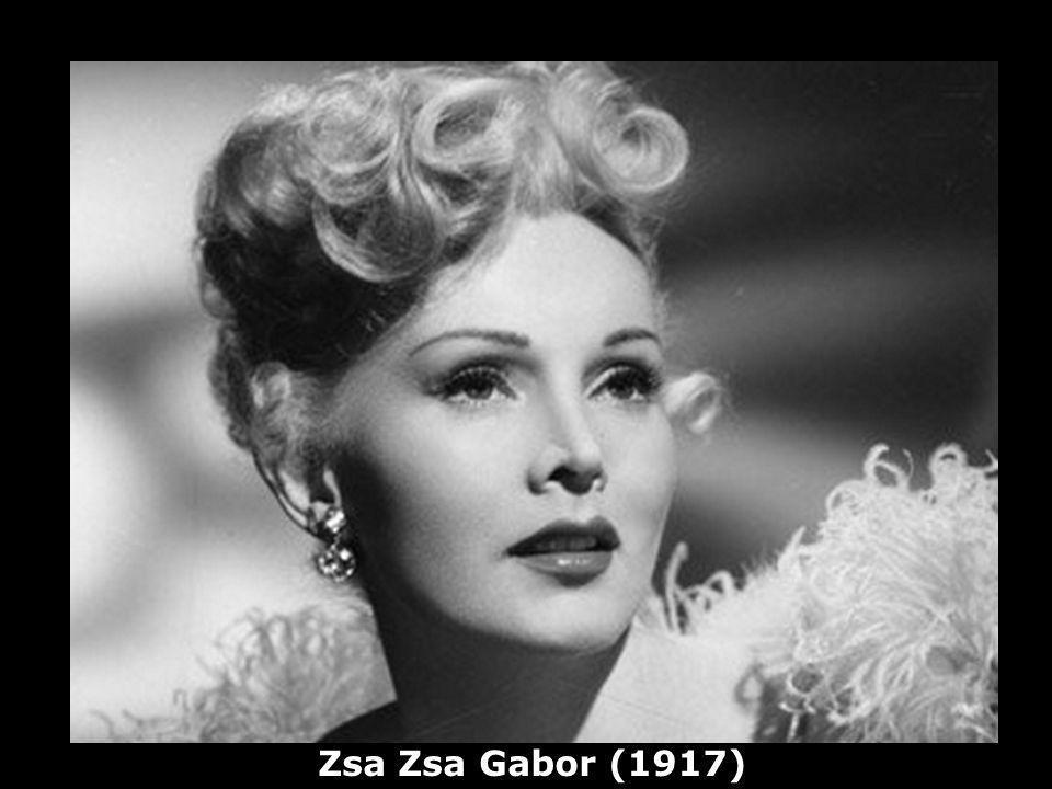 Zsa Zsa Gabor (1917)