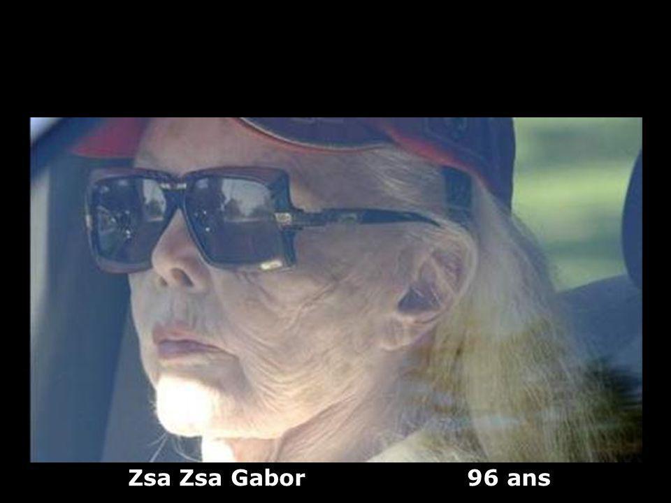 Zsa Zsa Gabor 96 ans