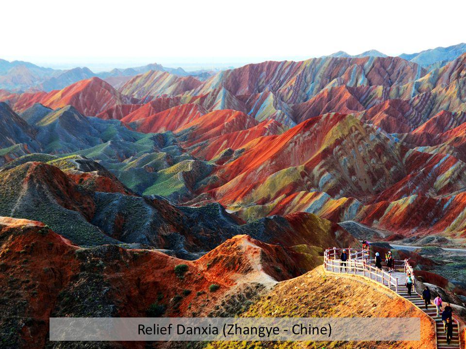 Relief Danxia (Zhangye - Chine)