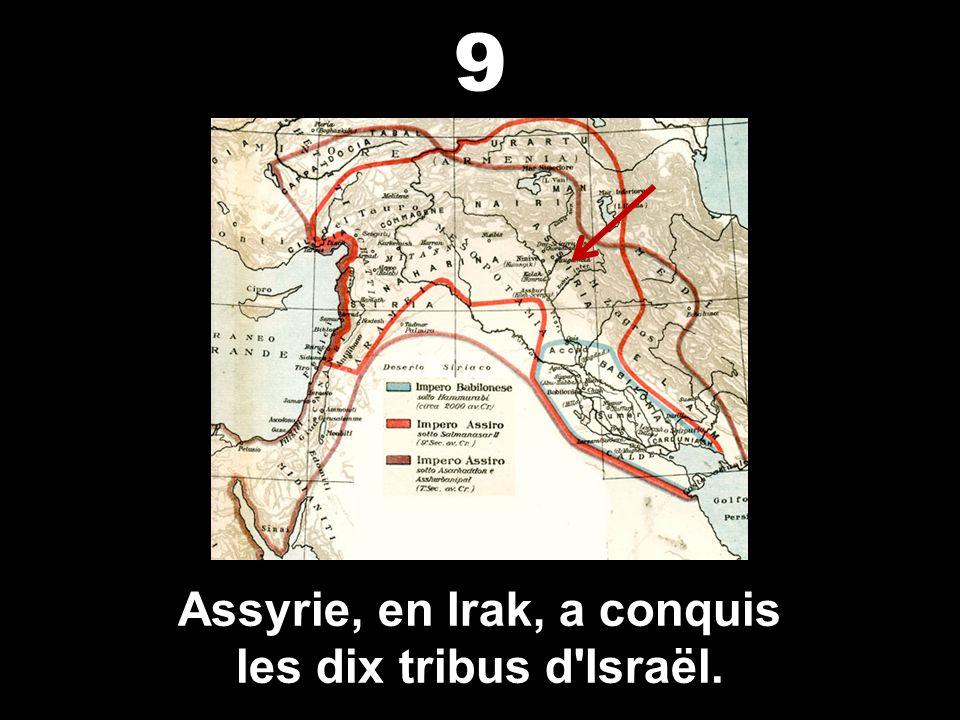 Assyrie, en Irak, a conquis