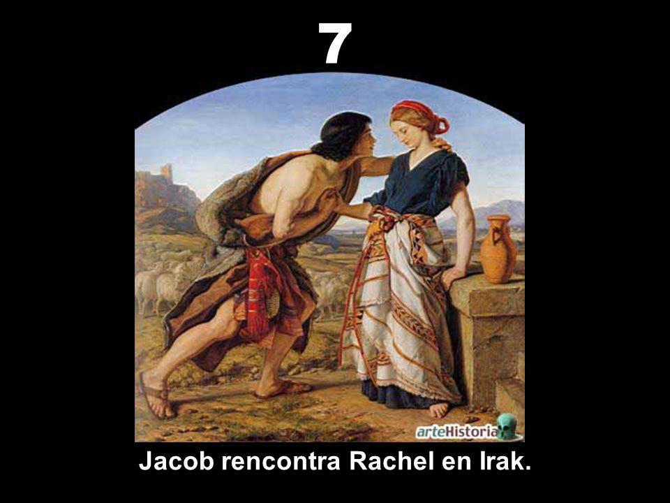 Jacob rencontra Rachel en Irak.