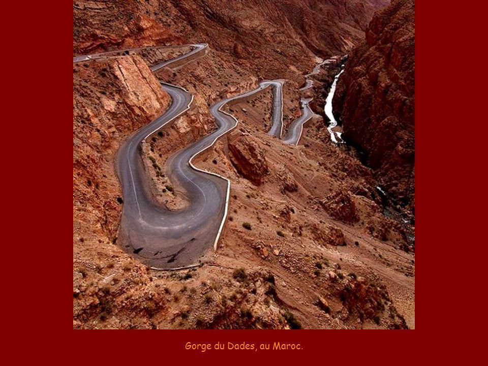 Gorge du Dades, au Maroc.
