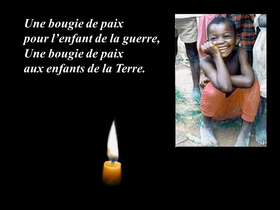 Une bougie de paix pour l'enfant de la guerre, Une bougie de paix