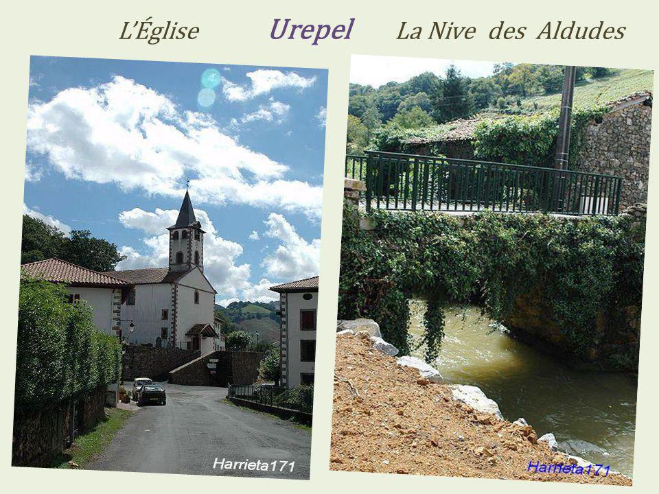 L'Église Urepel La Nive des Aldudes