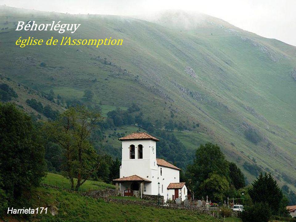 Béhorléguy église de l'Assomption