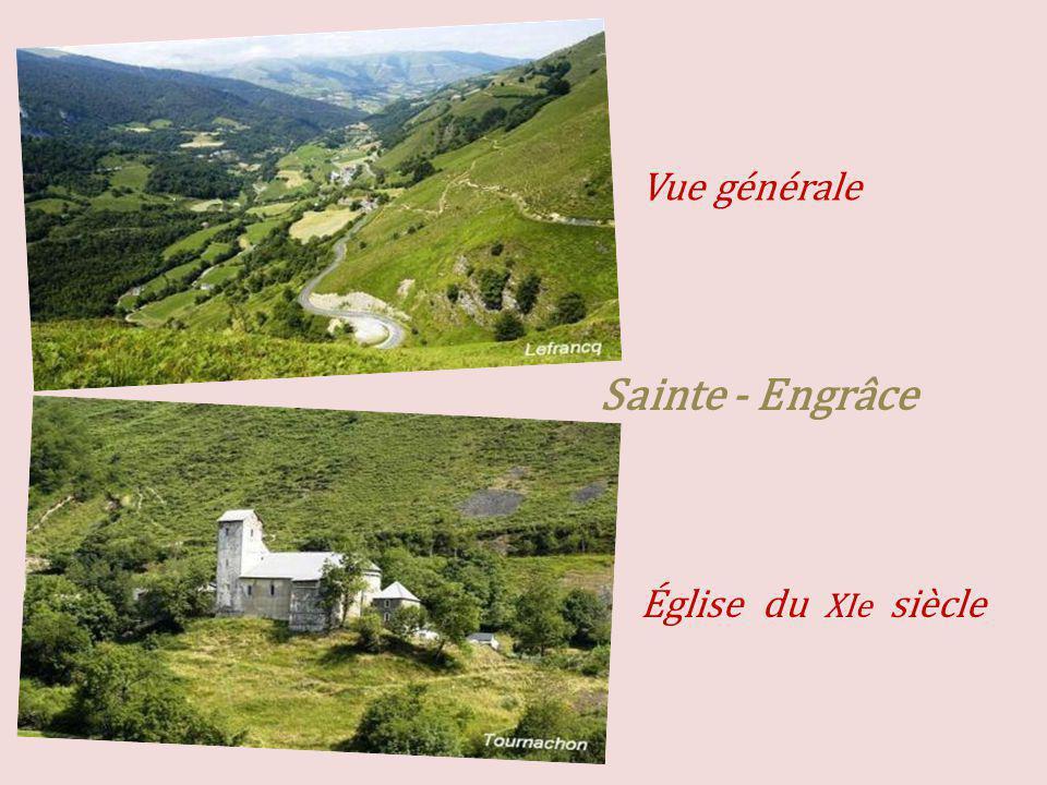 Vue générale Sainte - Engrâce Église du XIe siècle