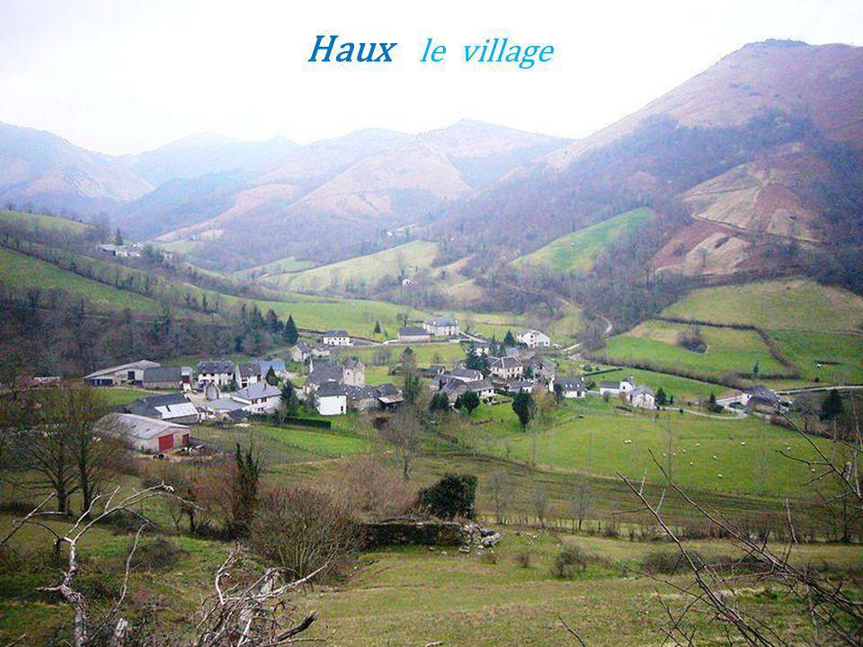 Haux le village