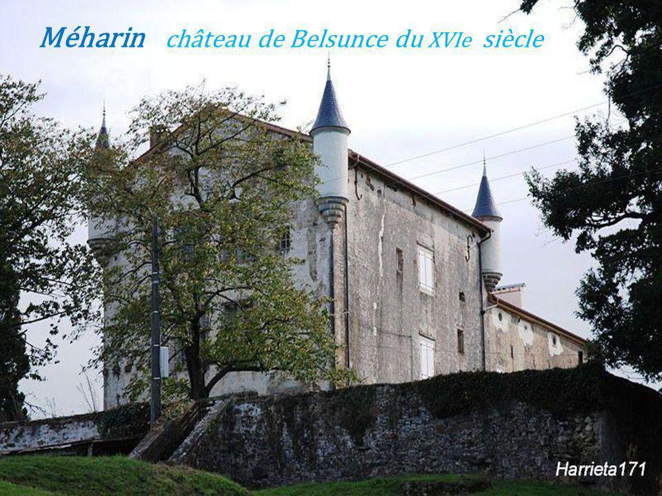 Méharin château de Belsunce du XVIe siècle