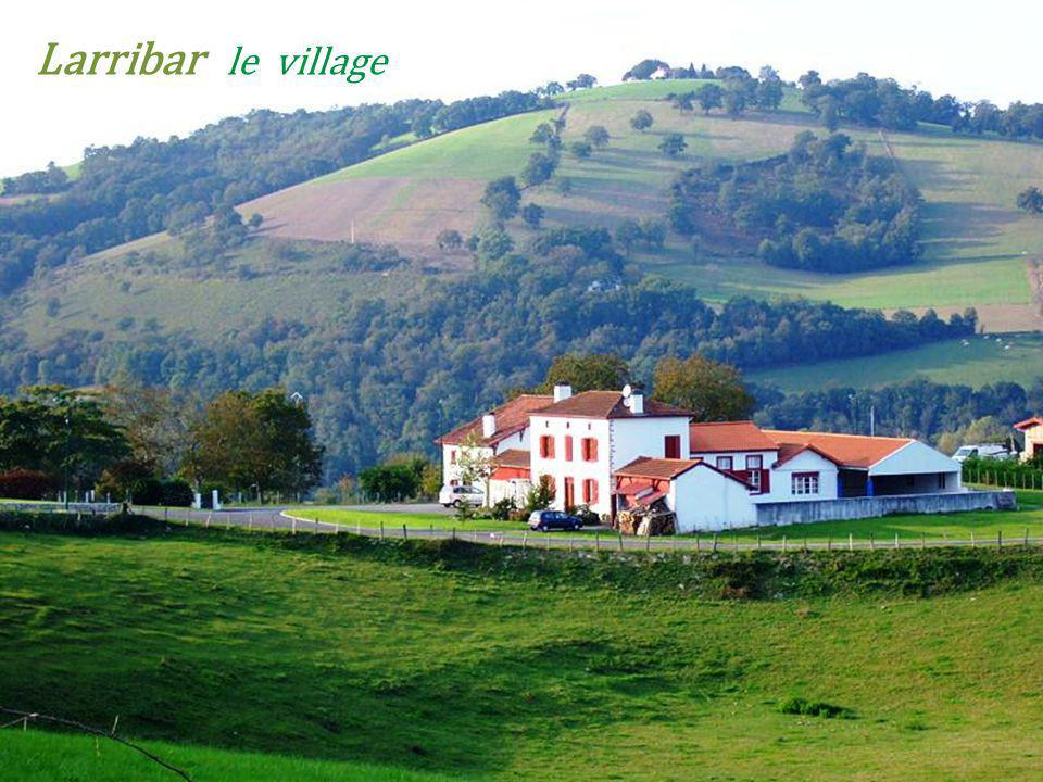 Larribar le village
