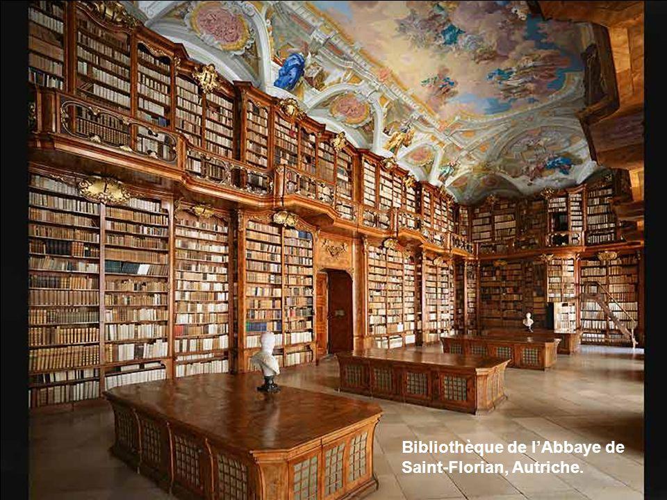 Bibliothèque de l'Abbaye de Saint-Florian, Autriche.