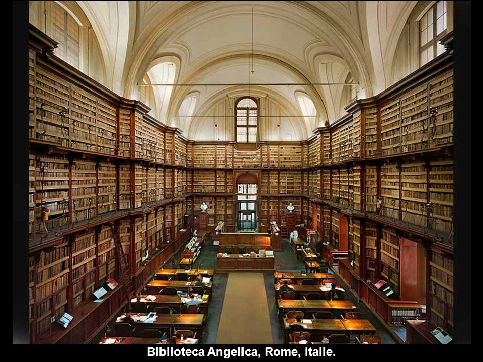 Biblioteca Angelica, Rome, Italie.