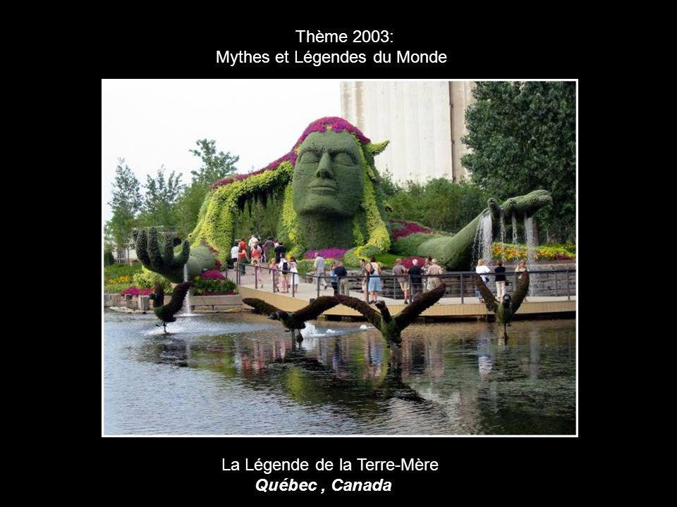 Thème 2003: Mythes et Légendes du Monde La Légende de la Terre-Mère Québec , Canada