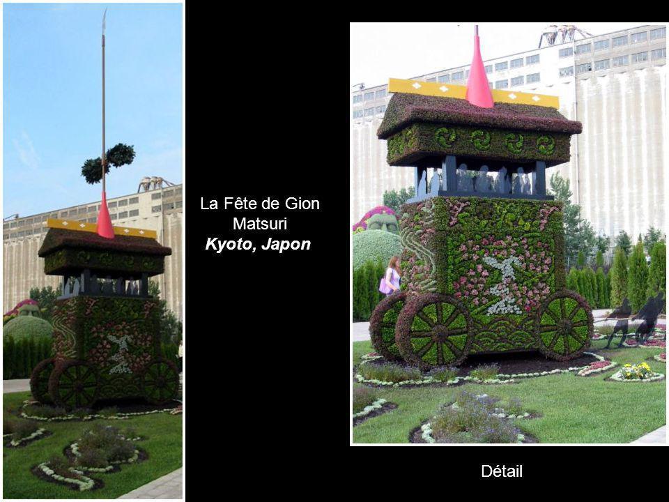 La Fête de Gion Matsuri Kyoto, Japon Détail