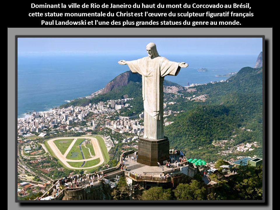 Paul Landowski et l une des plus grandes statues du genre au monde.