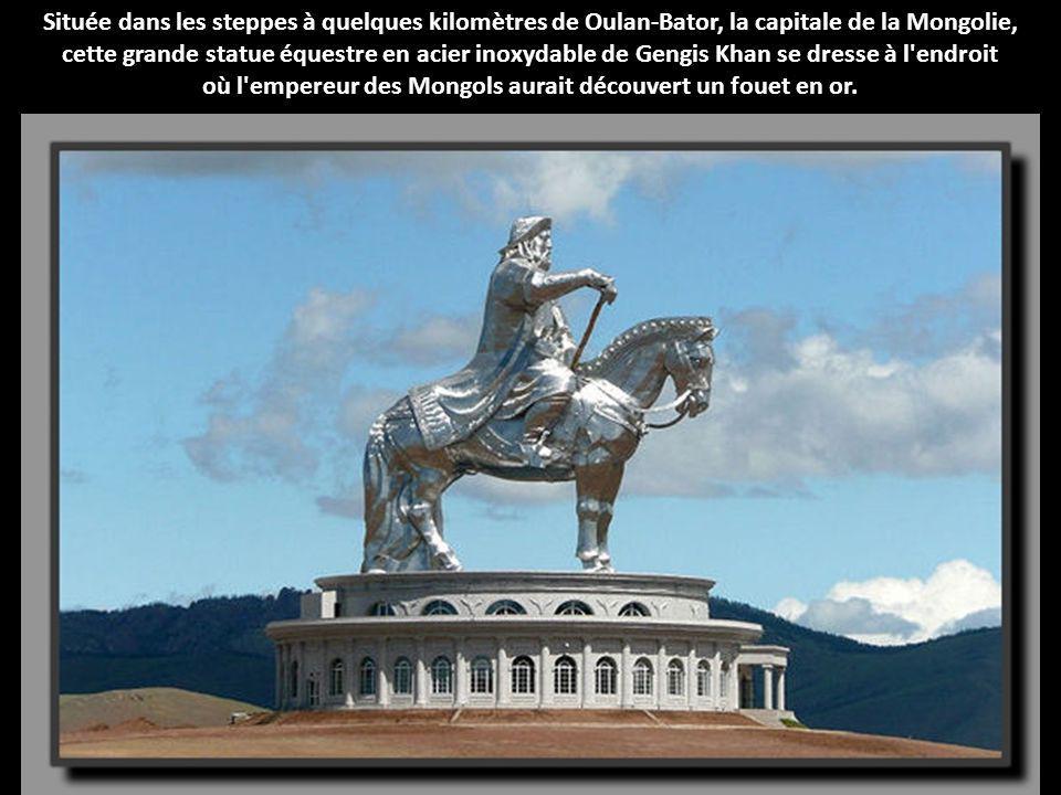 où l empereur des Mongols aurait découvert un fouet en or.