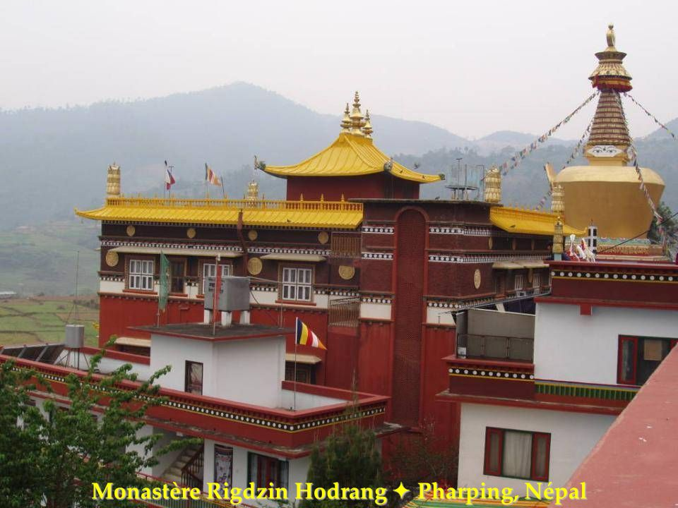Monastère Rigdzin Hodrang  Pharping, Népal