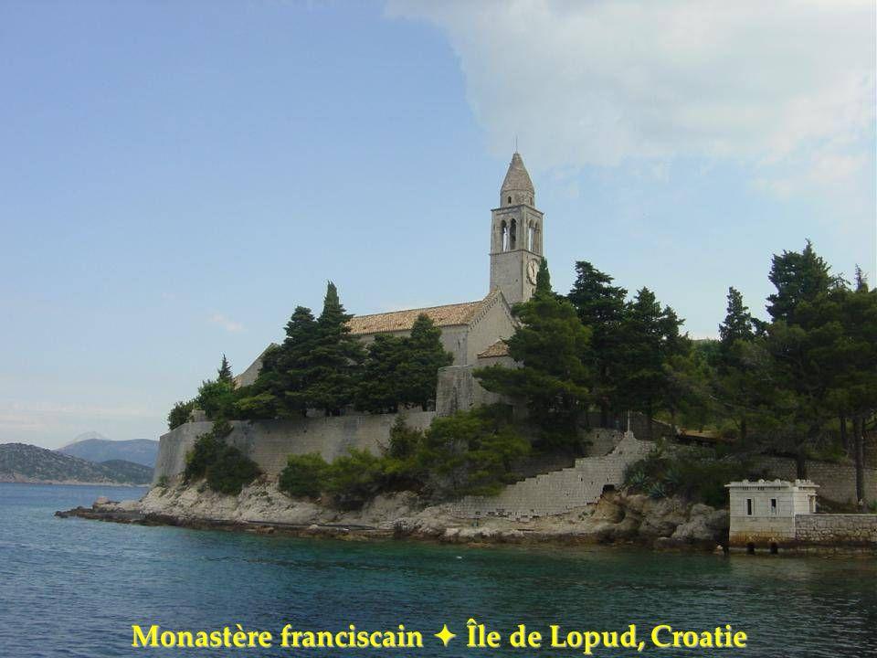 Monastère franciscain  Île de Lopud, Croatie