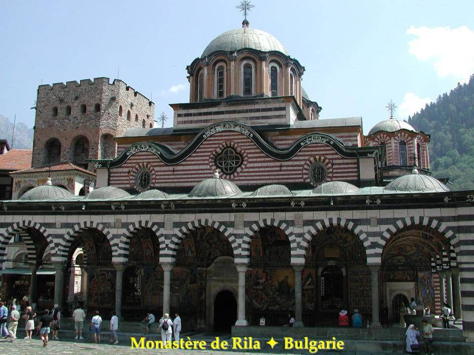 Monastère de Rila  Bulgarie