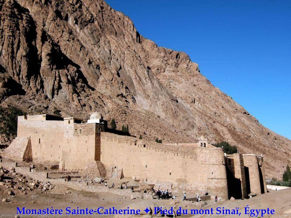 Monastère Sainte-Catherine  Pied du mont Sinaï, Égypte