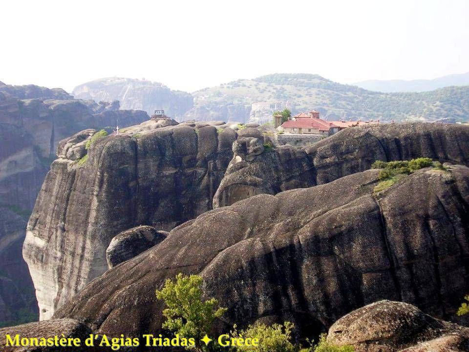 Monastère d'Agias Triadas  Grèce