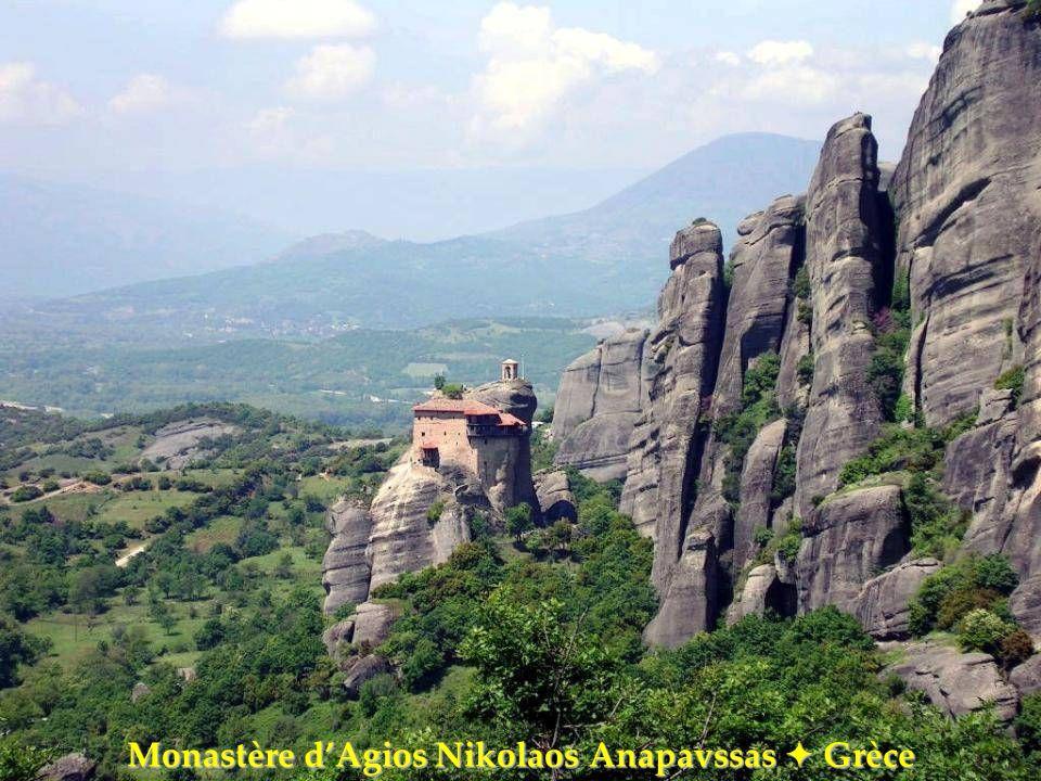 Monastère d'Agios Nikolaos Anapavssas  Grèce