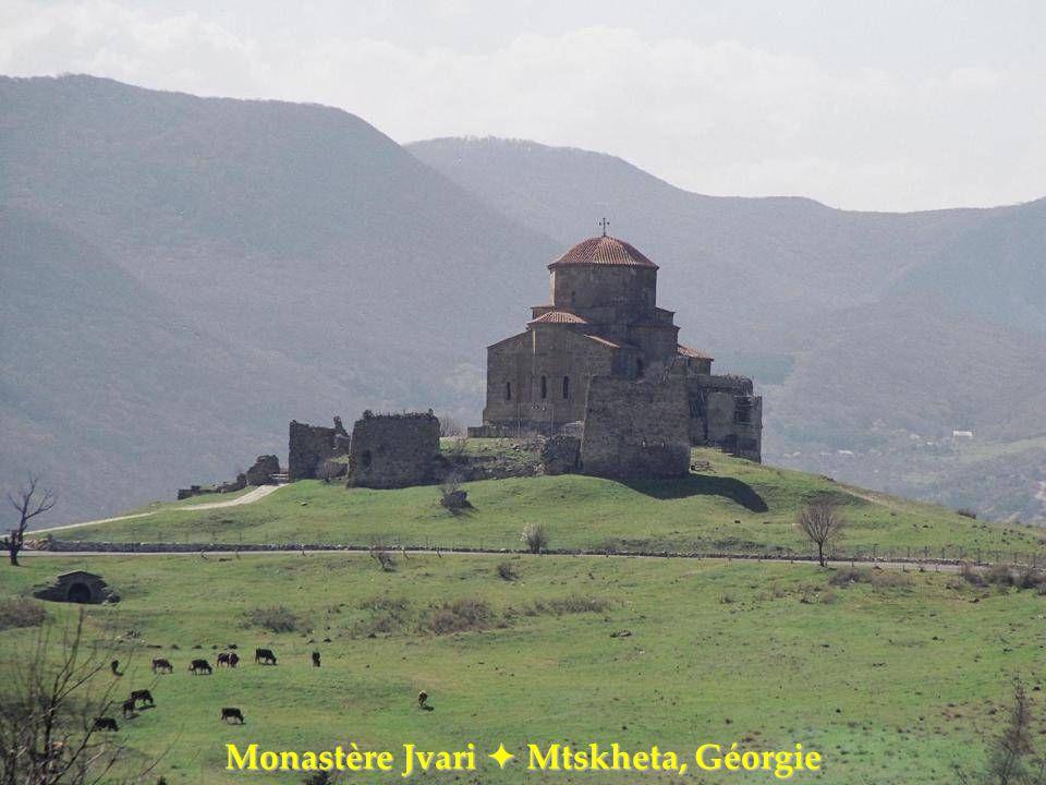 Monastère Jvari  Mtskheta, Géorgie