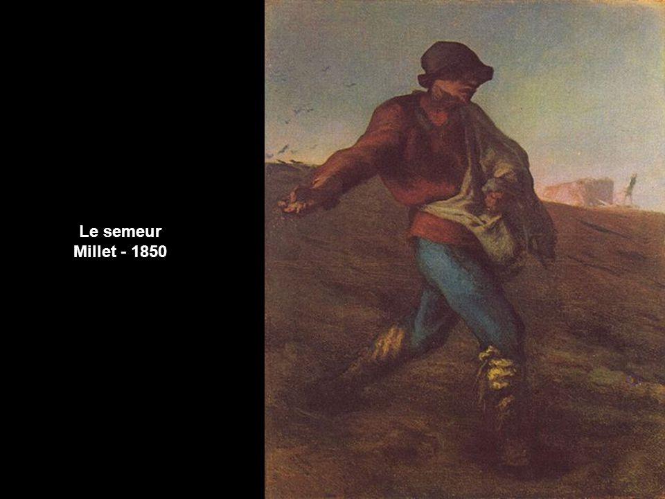 Le semeur Millet - 1850
