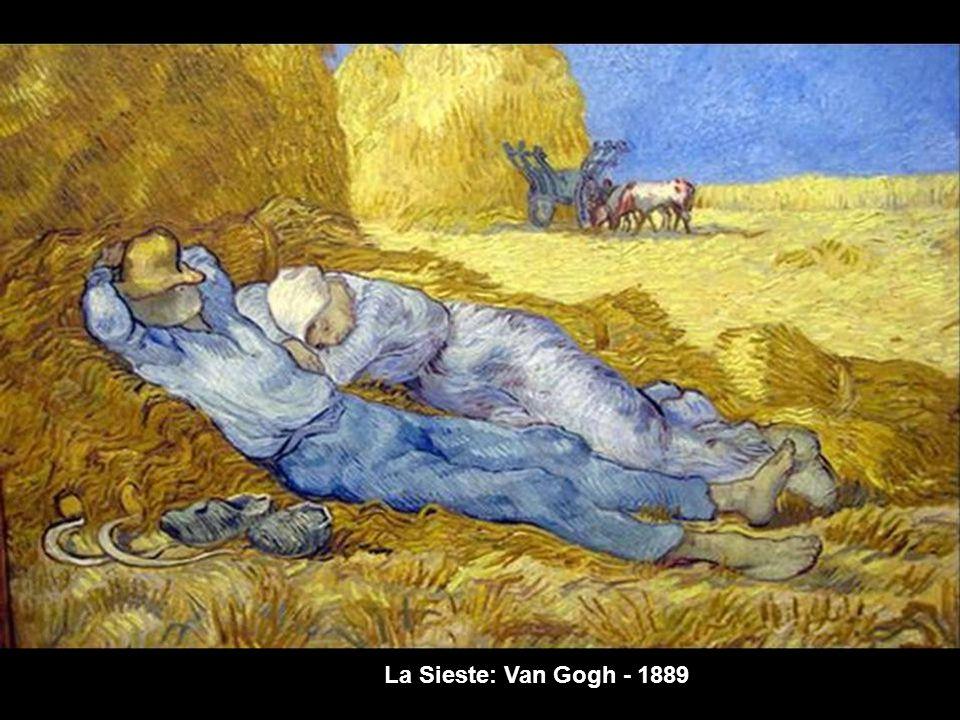 La Sieste: Van Gogh - 1889