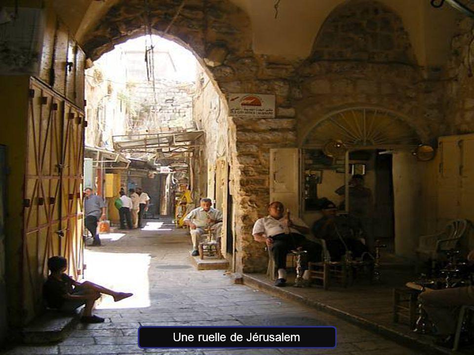 Une ruelle de Jérusalem