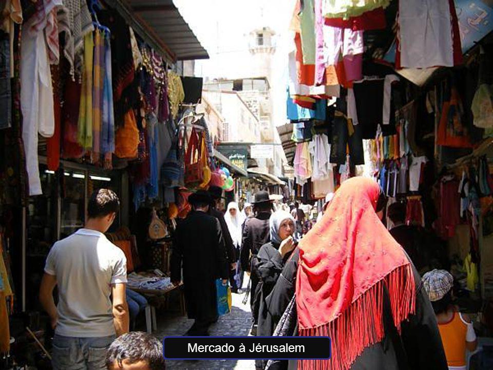 Mercado à Jérusalem