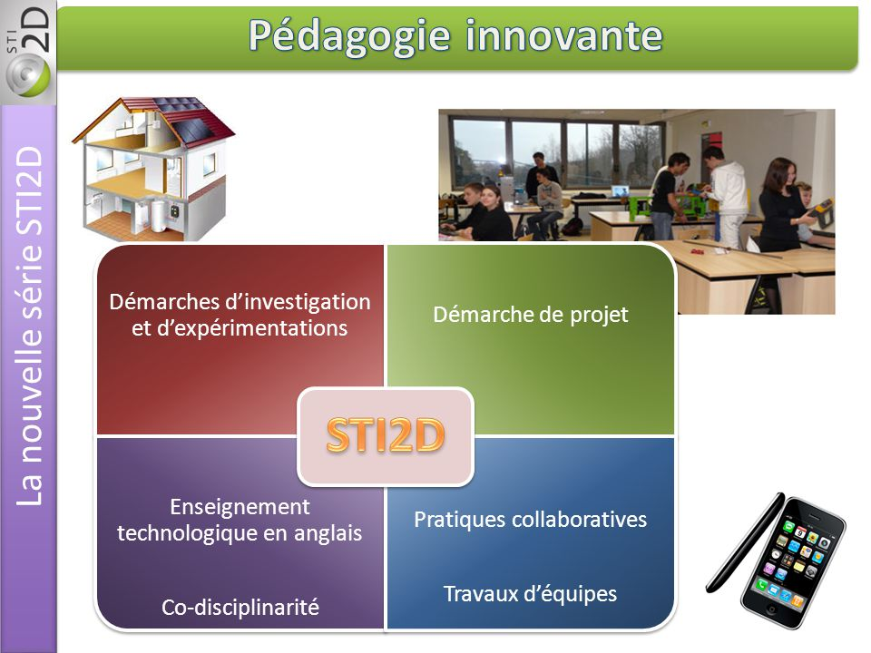 Pédagogie innovante La nouvelle série STI2D