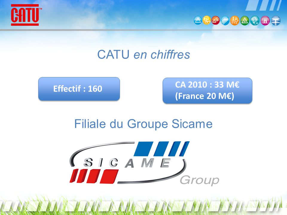 Filiale du Groupe Sicame