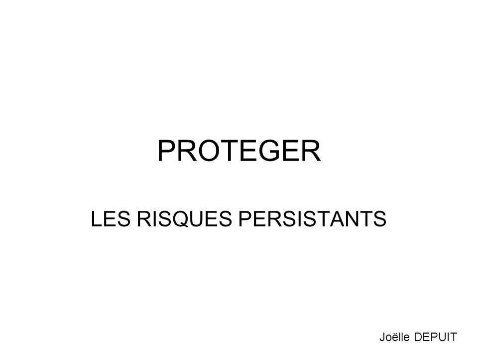 LES RISQUES PERSISTANTS