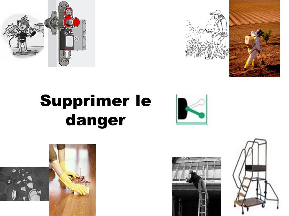 Supprimer le danger
