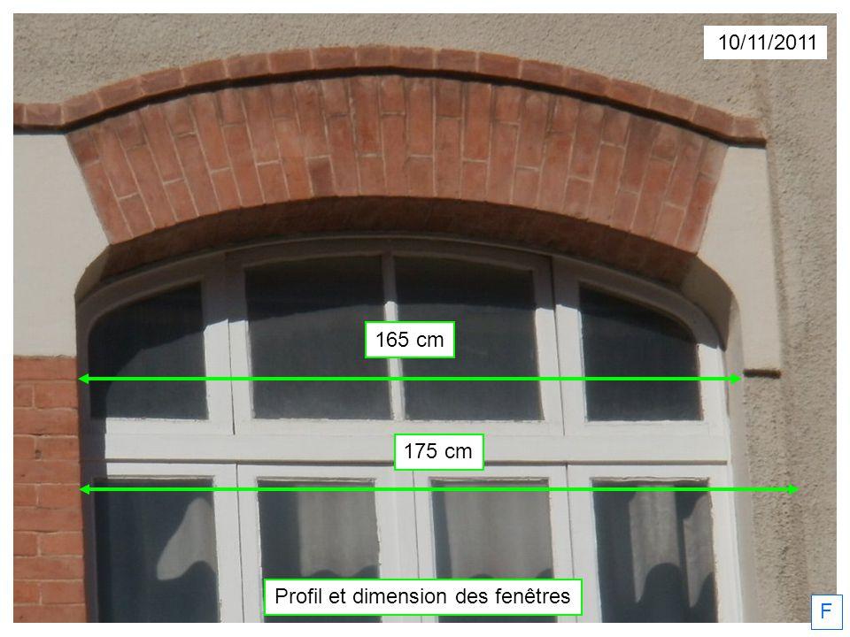 Profil et dimension des fenêtres