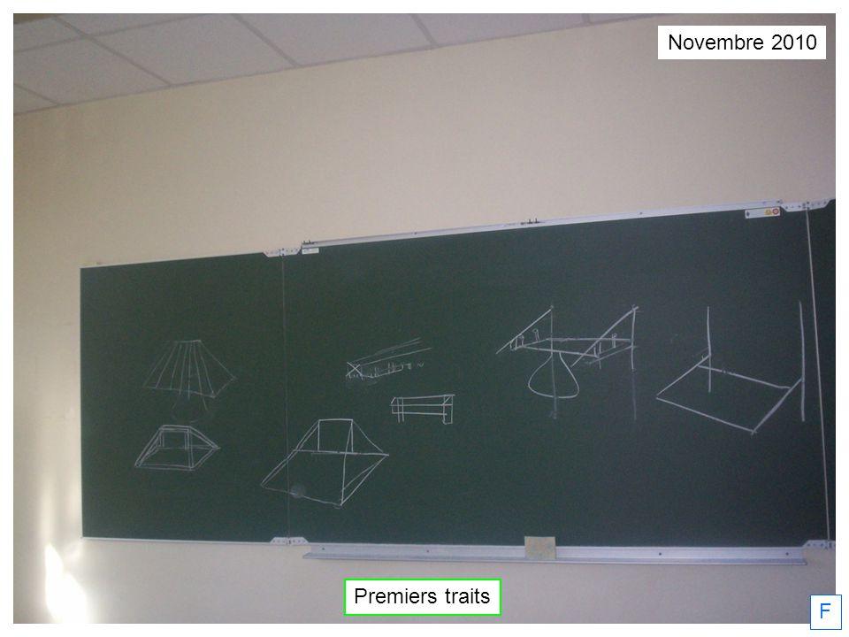 Novembre 2010 Premiers traits F