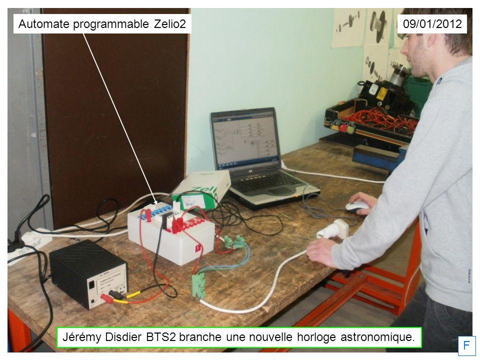 Automate programmable Zelio2 09/01/2012