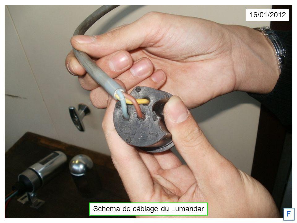 Schéma de câblage du Lumandar