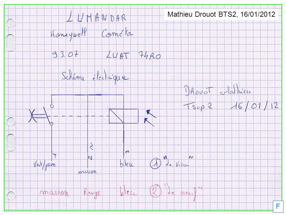 Mathieu Drouot BTS2, 16/01/2012 F