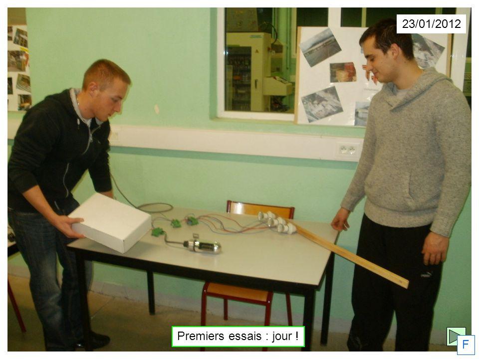 23/01/2012 Premiers essais : jour ! F