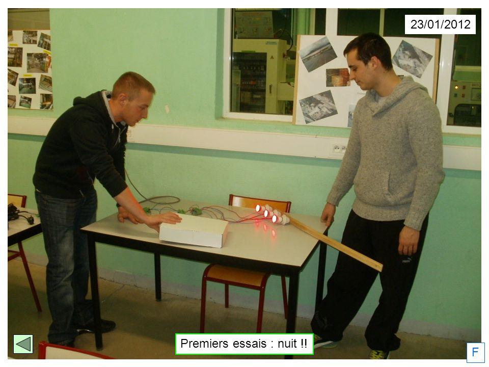 23/01/2012 Premiers essais : nuit !! F