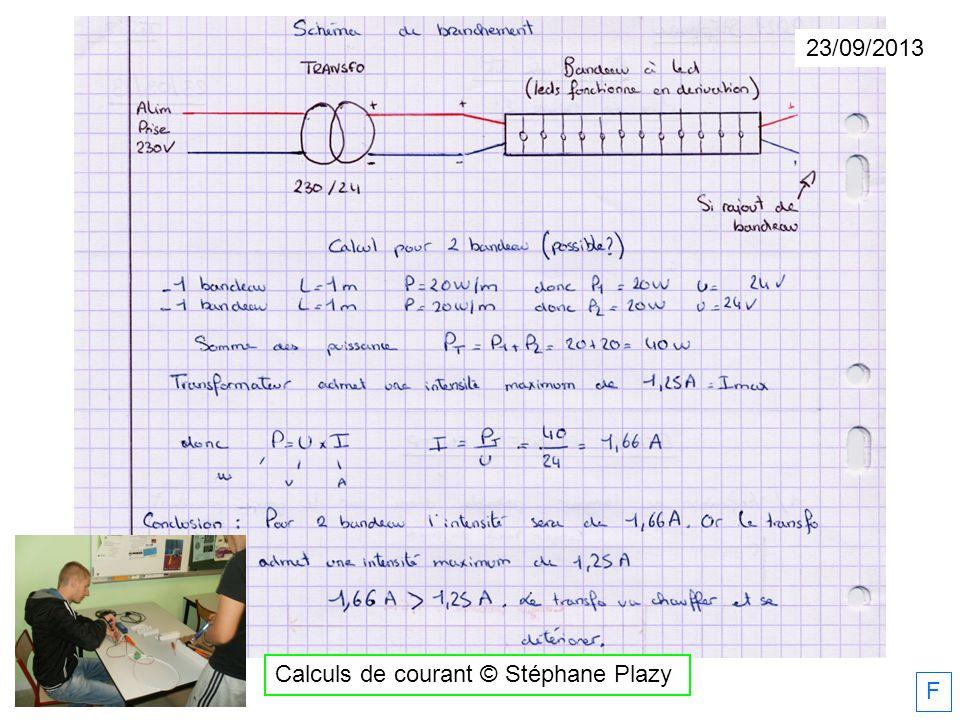 Calculs de courant © Stéphane Plazy