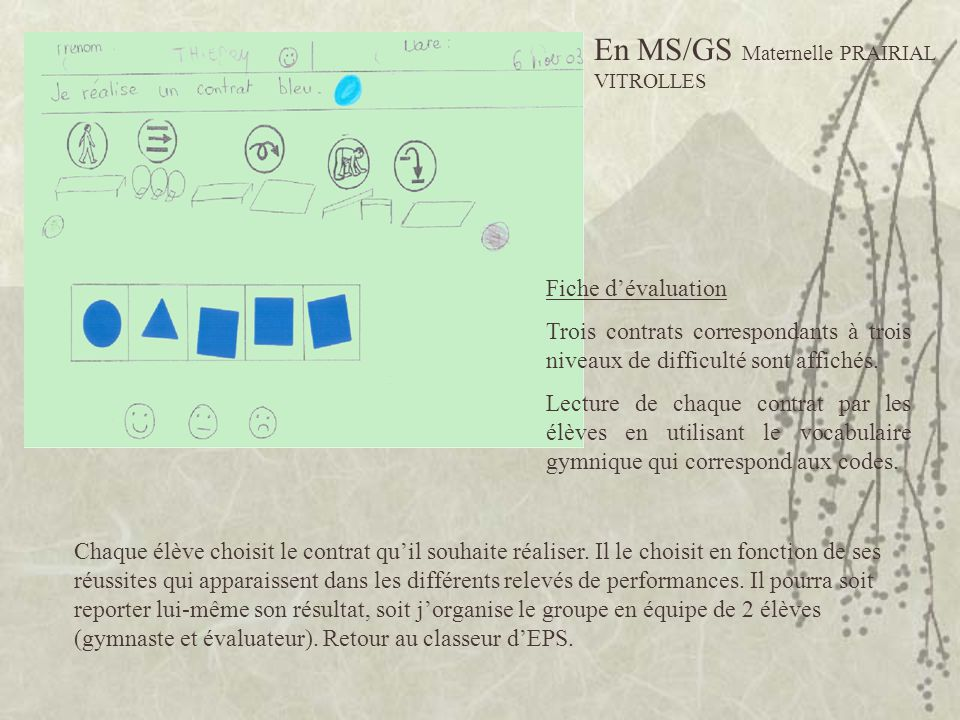 En MS/GS Maternelle PRAIRIAL VITROLLES