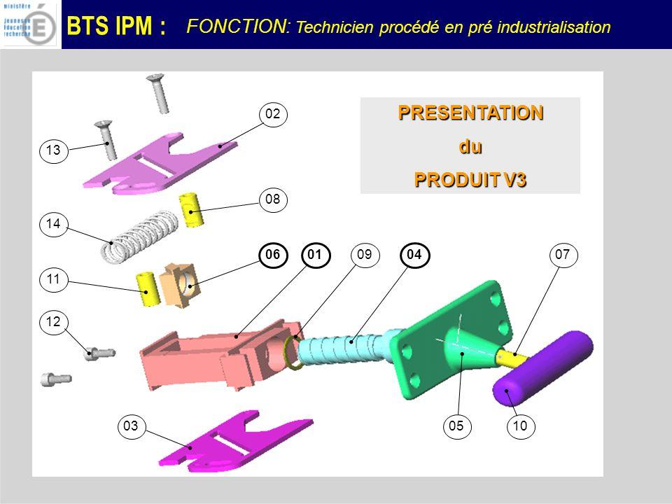 PRESENTATION du PRODUIT V3