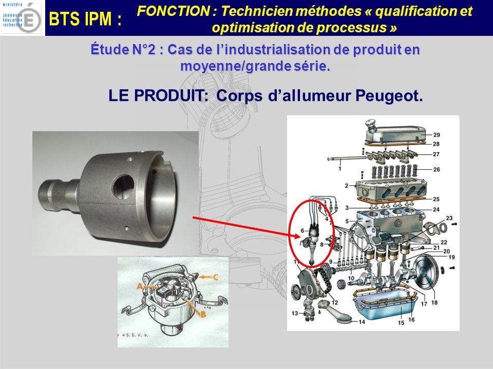 LE PRODUIT: Corps d'allumeur Peugeot.