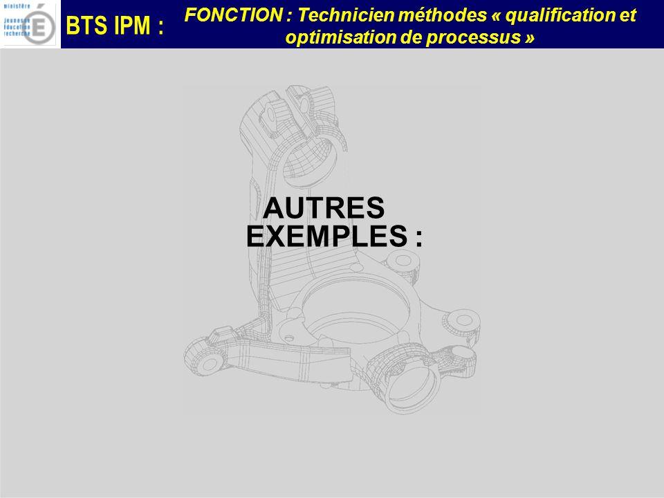 AUTRES EXEMPLES :
